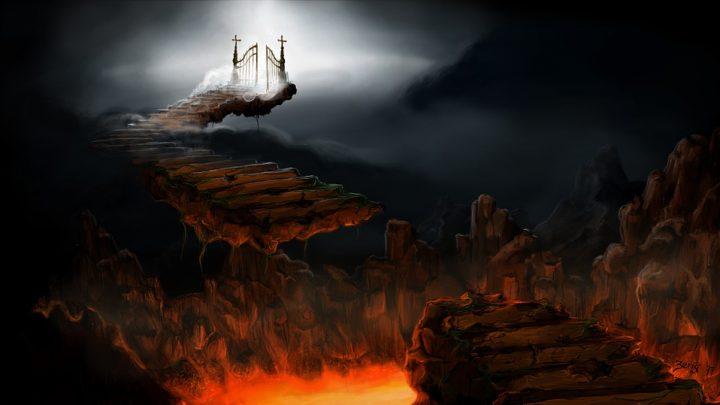escaliers ciel enfer
